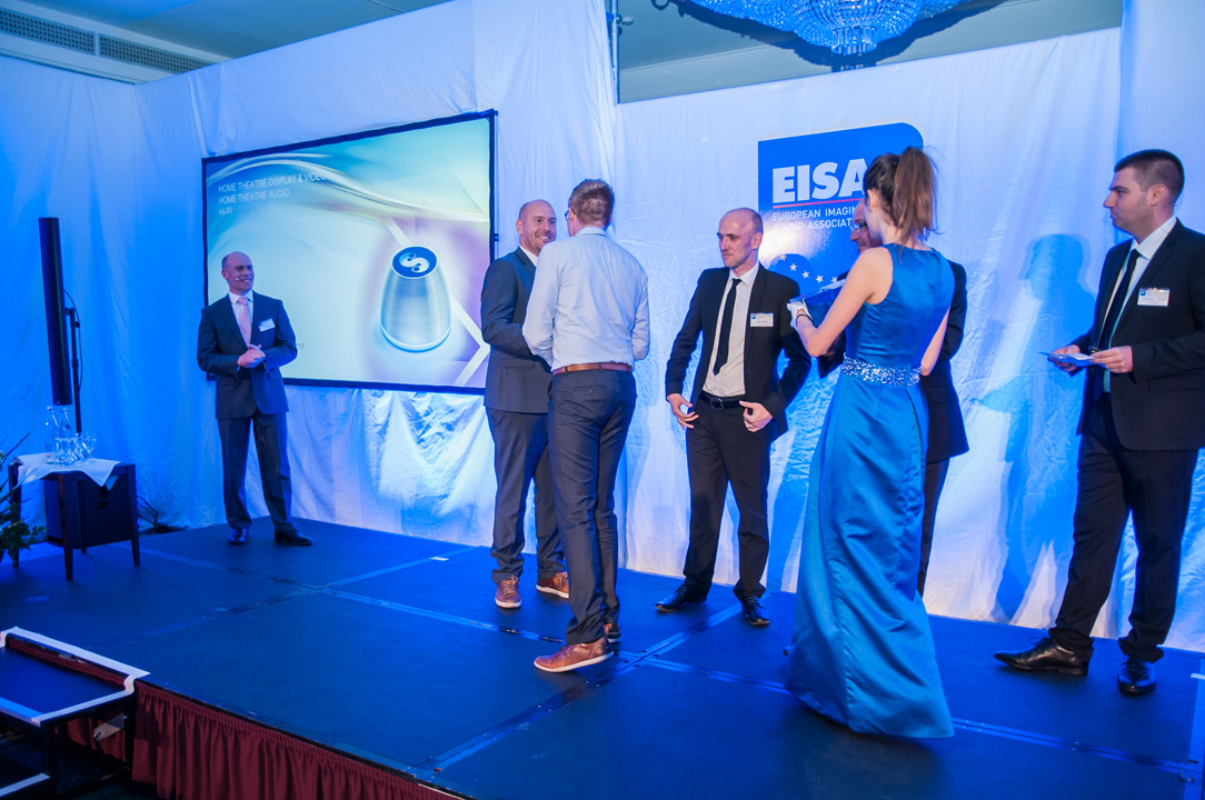 EISA Awards Gala Ceremony - SPIN remote SDC-1