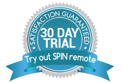 Try out SPIN remote for 30 days